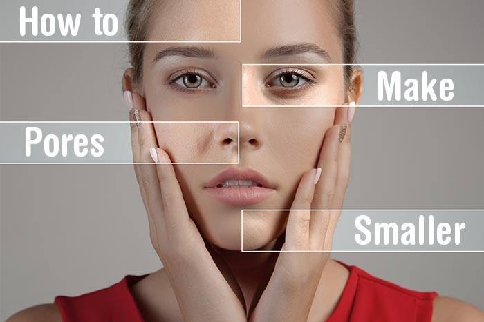 How to Make Pores Smaller