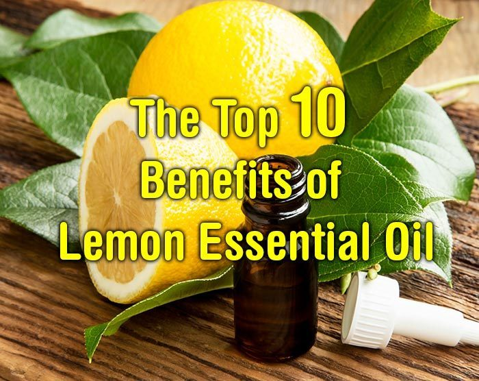 The Top 10 Benefits of Lemon Essential Oil