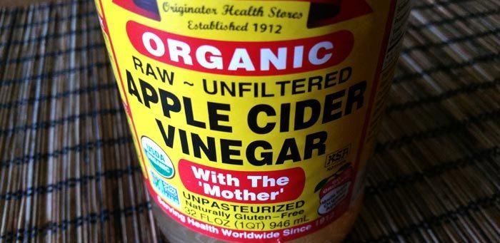 apple cider vinegar for stuffy nose