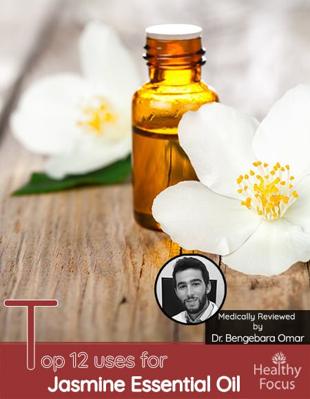 Top 12 uses for Jasmine Essential Oil