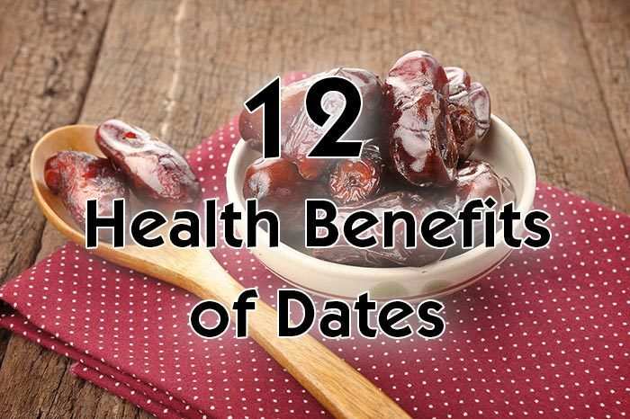12 Science Backed Health Benefits of Dates