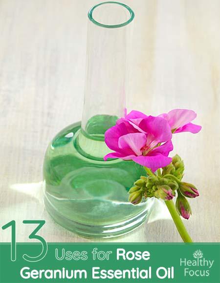 13 Uses for Rose Geranium Essential Oil