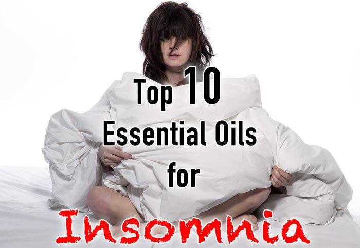 Essential oils for insomnia