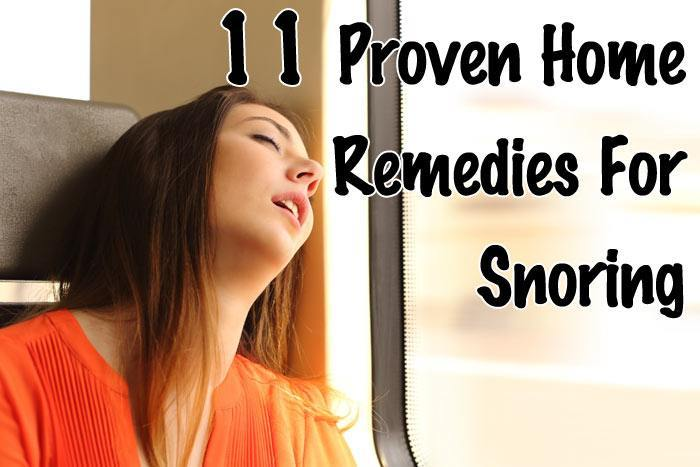 11 Proven Home Remedies For Snoring