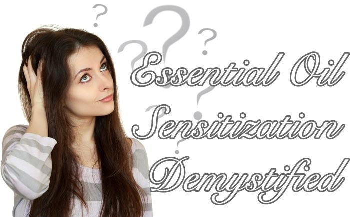 Essential Oil Sensitization Demystified
