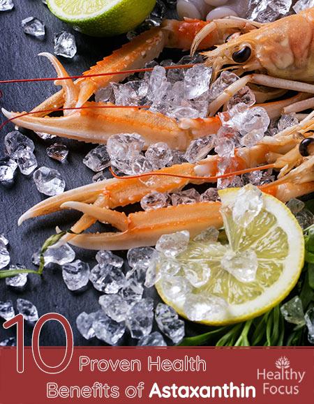 10 Proven Health Benefits of Astaxanthin