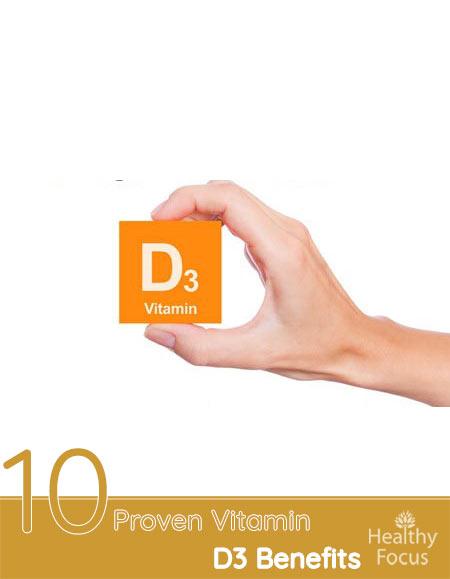 10 Proven Vitamin D3 Benefits