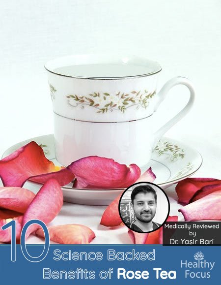 10 Science Backed Benefits of Rose Tea