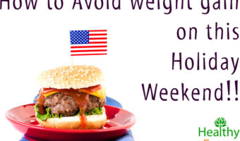 How to Avoid weight gain on this Holiday Weekend