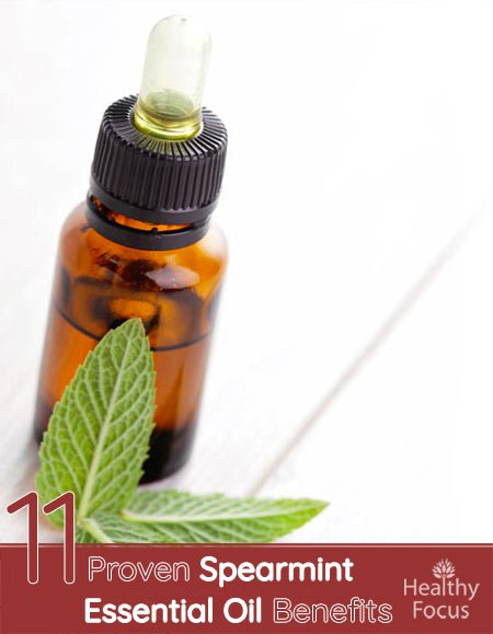 11 Proven Spearmint Essential Oil Benefits