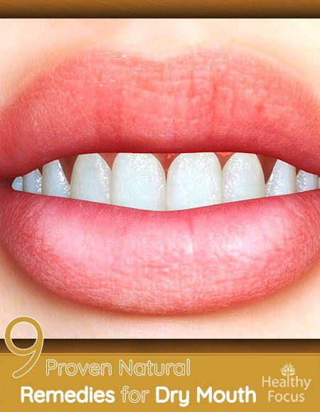 Natural treatment for dry mouth