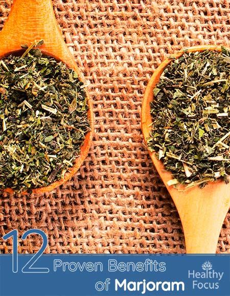 12 Proven Benefits of Marjoram