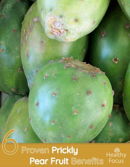Prickly pear cactus benefits