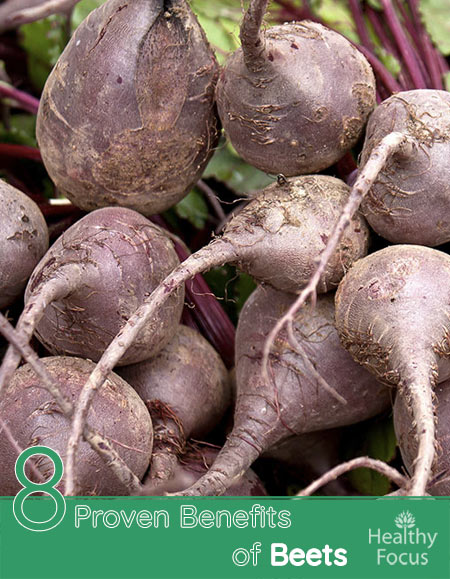 8 Proven Benefits of Beets