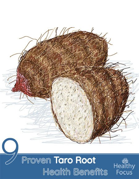 8 Proven Taro Root Health Benefits