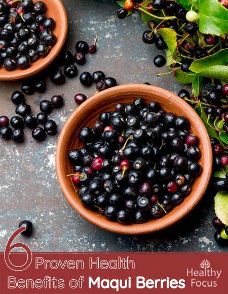 6 Proven Health Benefits of Maqui Berries