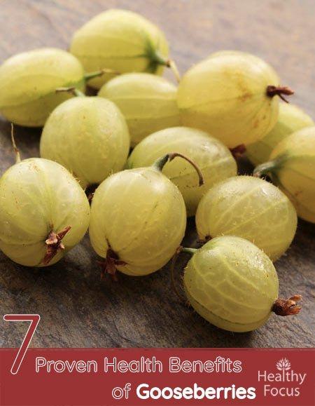 7 Proven Health Benefits of Gooseberries