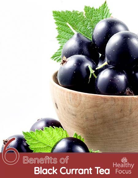 Benefits of Black Currant Tea