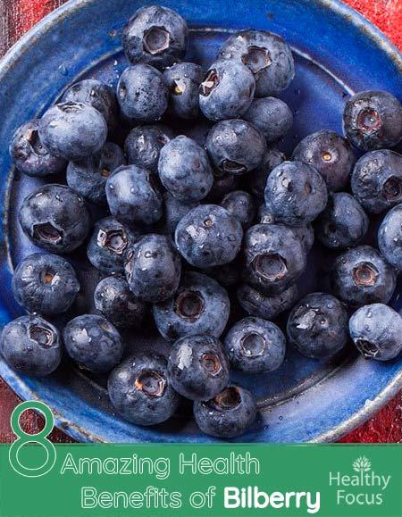 8 Amazing Health Benefits of Bilberry