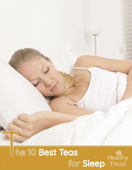 The 10 Best Teas for Sleep