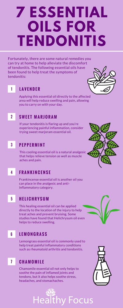 7 Essential Oils for Tendonitis