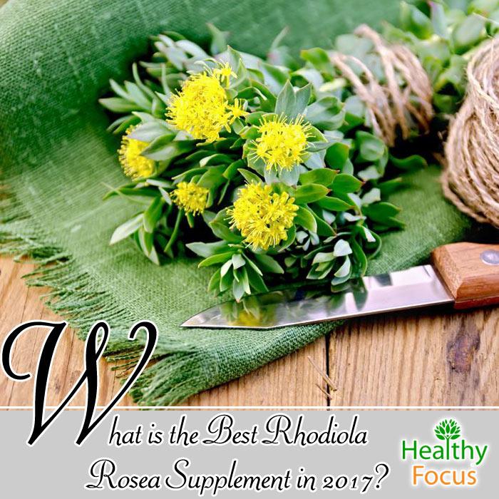 best rhodiola rosea supplement