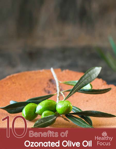 Benefits of Ozonated Olive Oil