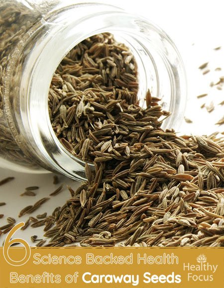 6 Science Backed Health Benefits of Caraway Seeds