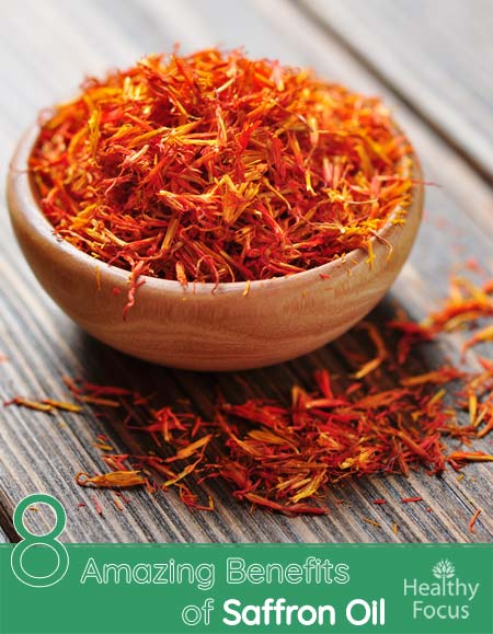 8 Amazing Benefits of Saffron Oil