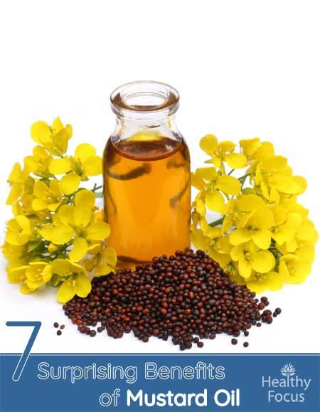 7 Surprising Benefits of Mustard Oil