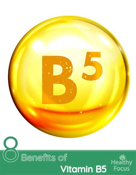 8 Benefits of Vitamin B5