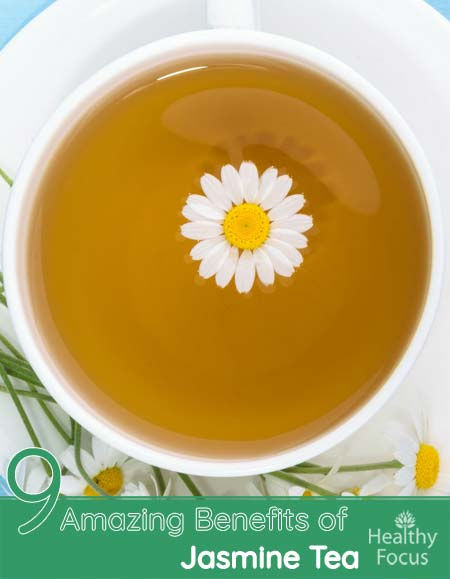 9 Amazing Benefits of Jasmine Tea