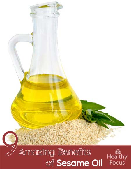 9 Amazing Benefits of Sesame Oil