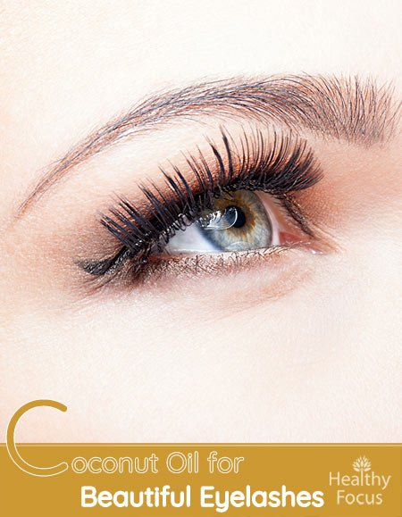 Coconut Oil for Beautiful Eyelashes